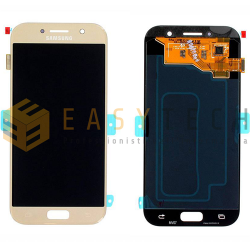 LCD DISPLAY PER SAMSUNG GALAXY A5 2017 A520F ORO (ORIGINALE)