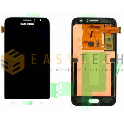LCD DISPLAY PER SAMSUNG GALAXY J1 2016 SM-J120FN BIANCO (ORIGINALE)