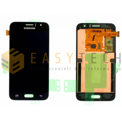 LCD DISPLAY PER SAMSUNG GALAXY J1 2016 SM-J120FN NERO (ORIGINALE)