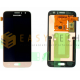 LCD DISPLAY PER SAMSUNG GALAXY J1 2016 SM-J120FN ORO (ORIGINALE)