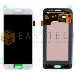 LCD DISPLAY PER SAMSUNG GALAXY J5 J500FN BIANCO (ORIGINALE)