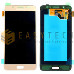 LCD DISPLAY PER SAMSUNG GALAXY J5 2016 SM-J510FN ORO (ORIGINALE)
