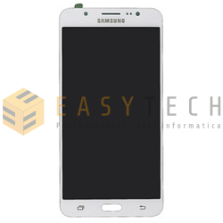 LCD DISPLAY PER SAMSUNG GALAXY J7 2016 SM-J710FN BIANCO (ORIGINALE)
