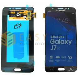 LCD DISPLAY PER SAMSUNG GALAXY J7 2016 SM-J710FN NERO (ORIGINALE)