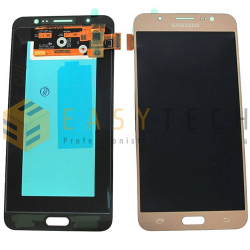 LCD DISPLAY PER SAMSUNG GALAXY J7 2016 SM-J710FN ORO (ORIGINALE)