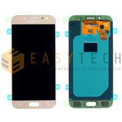LCD DISPLAY PER SAMSUNG GALAXY J5 2017 SM-J530 ORO (ORIGINALE)