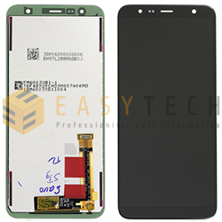 LCD DISPLAY PER SAMSUNG GALAXY J610 J415 PLUS NERO (ORIGINALE)