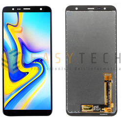 LCD DISPLAY PER SAMSUNG GALAXY J610 J415 PLUS NERO (COMPATIBILE)