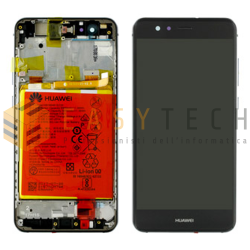 LCD DISPLAY PER HUAWEI P10 LITE NERO (ORIGINALE)