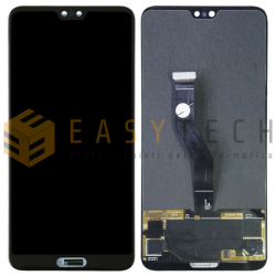 LCD DISPLAY PER HUAWEI P20 PRO CLT-L09 NERO (COMPATIBILE)