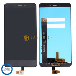 TOUCH SCREEN VETRO + LCD DISPLAY XIAOMI REDMI NOTE 4 MTK SENZA FRAME Nero