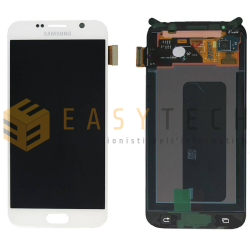 LCD DISPLAY PER SAMSUNG GALAXY S6 G920 BIANCO (ORIGINALE)