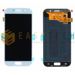 LCD DISPLAY PER SAMSUNG GALAXY A5 2017 A520F AZZURRO (ORIGINALE)