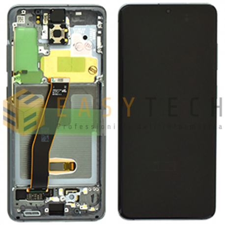 DISPLAY LCD PER SAMSUNG GALAXY S20 G980 GRAY (ORIGINALE)